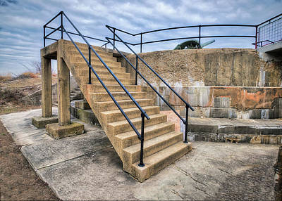 Photograph - Battery Gunnison Bunker At Sandy Hook by Gary Slawsky