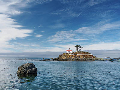 Photograph - Battery Lighthouse In Summer by Greg Nyquist