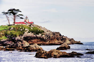 Photograph - Battery Point Light by Lana Trussell