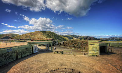Abandoned Military Bases Photograph - Battery Spencer At Fort Baker - Marin Headlands California by Jennifer Rondinelli Reilly - Fine Art Photography