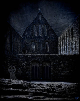Battle Abbey Ruins Art Print by Chris Lord