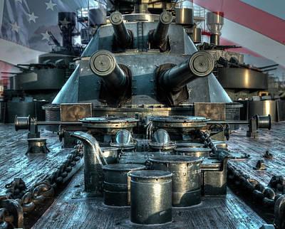 Battle Barge Texas Art Print by Ken Shuffield