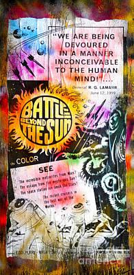 Battle Beyond The Sun Original by Jd Kline