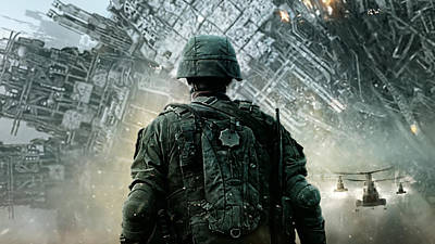 Cities Digital Art - Battle Los Angeles by Super Lovely