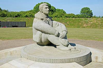 Raf Photograph - Battle Of Britain Memorial by Chris Thaxter