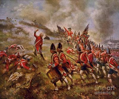 Battle Of Bunker Hill Original by Frederick Holiday