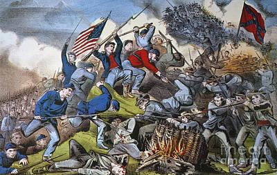 Battle Of Chattanooga 1863 Art Print by Granger