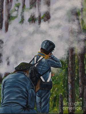 Battle Of Fort Dade Art Print