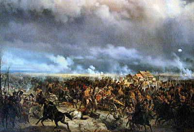 Photograph - Battle Of Grochow by Bogdan Pavlovich Willewalde
