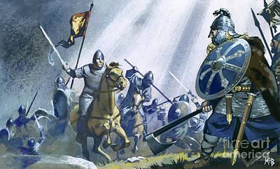 Hastings Painting - Battle Of Hastings by Angus McBride