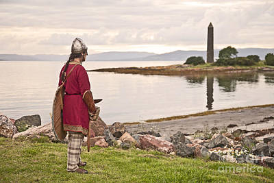 Photograph - Battle Of Largs by Liz Leyden