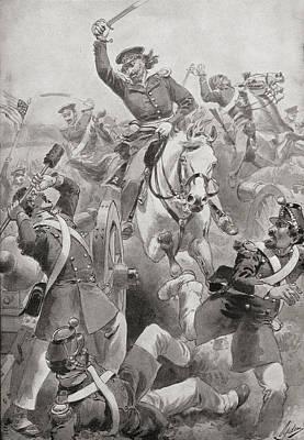Battle Of Resaca De La Palma, Near Art Print