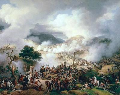 Battle Of Somo Sierra Art Print