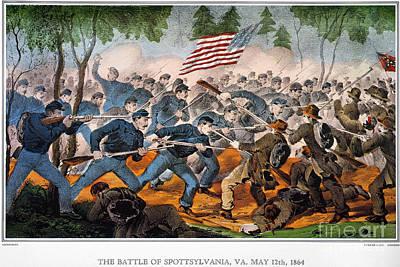 Painting - Battle Of Spotsylvania by Granger