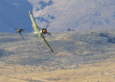 Photograph - Battle Of The Hawker Sea Furys by John King