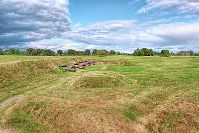 Photograph - Battle Of Yorktown Battlefield by John M Bailey