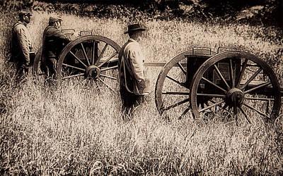Artillery Digital Art - Battle Ready - Gettysburg by Bill Cannon