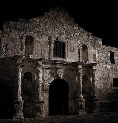 Mess Photograph - Battle Scarred Alamo by Daniel Hagerman