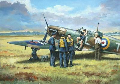 Painting - 'battle Tactics' by Colin Parker