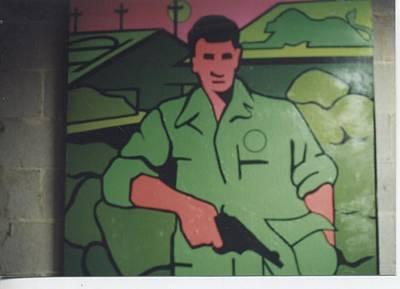 Battle Veteran Art Print by James Larson
