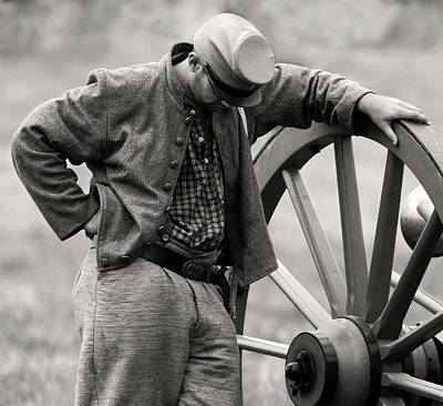 Photograph - Battle Weary by Art Cole