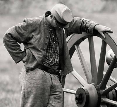Photograph - Battle Weary by Art Cole