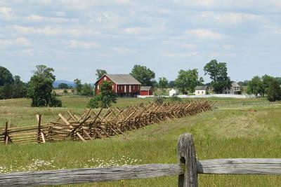Photograph - Battlefield Gettysburg by Donald C Morgan