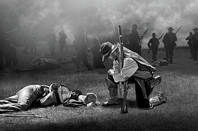 Digital Art - Battlefield by Thanh Thuy Nguyen