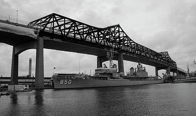 Photograph - Battleship Cove Panorama by David Gordon