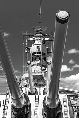 Photograph - Battleship Missouri by Colleen Coccia