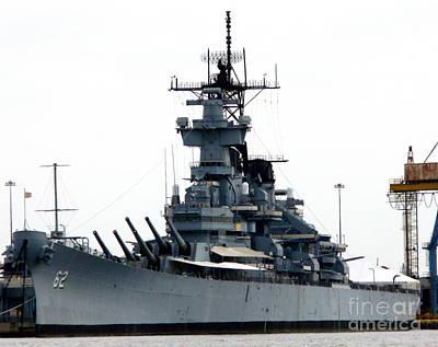Battleship New Jersey Art Print