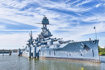 Www1 Photograph - Battleship Texas by Tod and Cynthia Grubbs