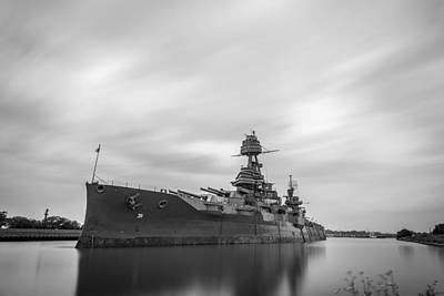 Photograph - Battleship Texas by Todd Aaron