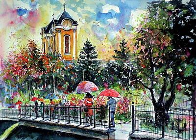 Painting - Battonya by Kovacs Anna Brigitta