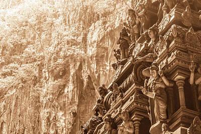 Photograph - Batu Cave Temple by Nadja Meyer