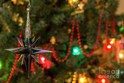 Photograph - Bauble - Christmas Greetings Card by Wendy Wilton