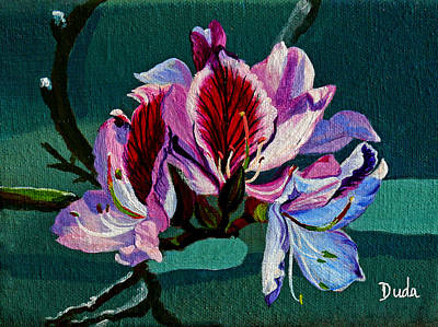 Painting - Bauhinia Beauty by Susan Duda