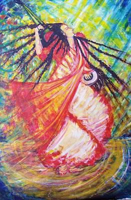 Sadhu Painting - Baul by Deboshree Chatterjee