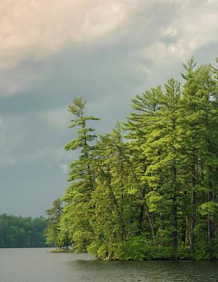 Maine Lake Photograph - Bauneg Beg by Joseph Smith