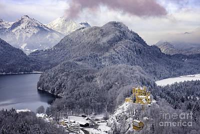 Photograph - Hohenscwhangau Castle - Bavaria by Brian Jannsen