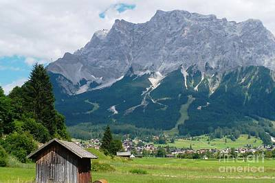 Germany Photograph - Bavarian Alps Landscape by Carol Groenen