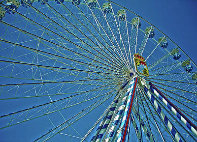 Photograph - Bavarian Fairy Wheel by Juergen Weiss