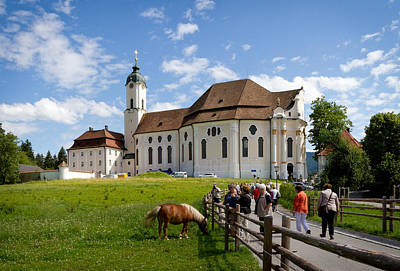 Photograph - Bavarian Pilgrimage Church Of Wies by Jenny Setchell