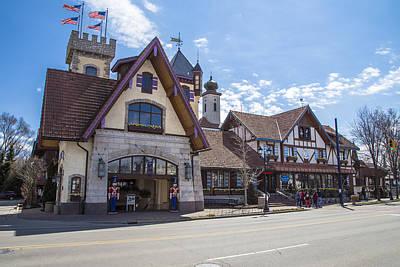 Michigan Frankenmuth Photograph - Bavarian Village On Sunny Day by John McGraw