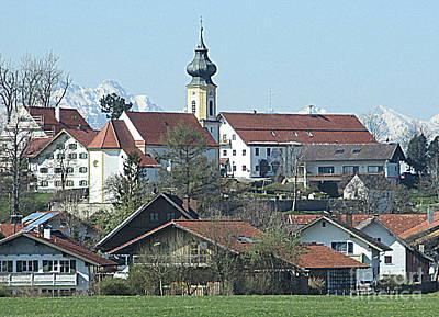 German Village Photograph - Bavarian Village by Randall Weidner