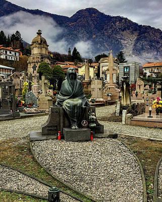 Photograph - Baveno Cemetery by Mickey Stellavato
