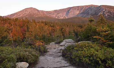 Photograph - Baxter State Park Hamlin Peak by Glenn Gordon