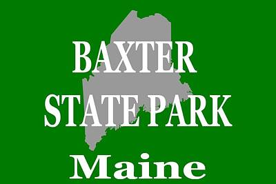 Photograph - Baxter State Park Pride by Keith Webber Jr