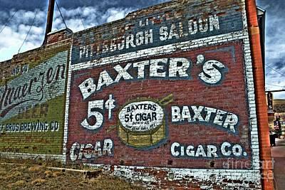 Photograph - Baxter's by Tony Baca