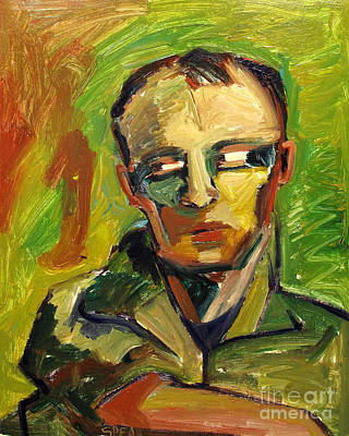 Berkeley Painting - Bay Area Elmer Bischoff by Charlie Spear